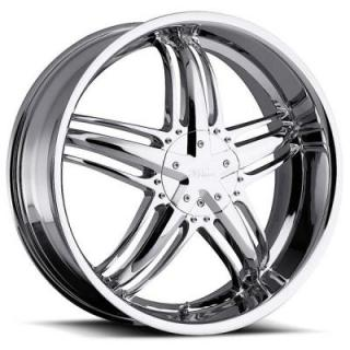 MILANNI WHEELS  FORCE 457 FWD CHROME RIM