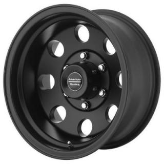 SPECIAL BUY WHEELS  AMERICAN RACING AR172 BAJA SATIN BLACK RIM PPT DISPLAY SET 1 SET ONLY