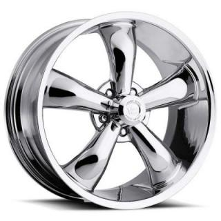 VISION WHEELS   LEGEND 5 TYPE 142 RWD CHROME RIM
