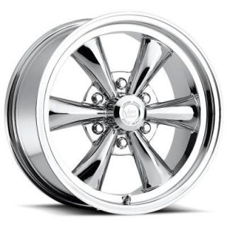 VISION WHEELS   LEGEND 6 TYPE 141 CHROME RIM