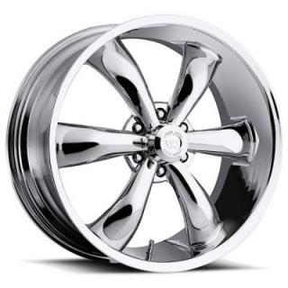 VISION WHEELS   LEGEND 6 TYPE 142 RWD CHROME RIM