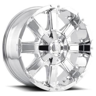 CHAOS CHROME RIM by MAYHEM WHEELS
