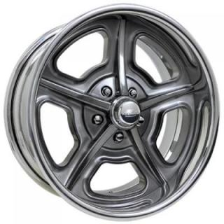 BILLET SPECIALTIES WHEELS  VINTAGE SERIES HERITAGE S SMOKE RIM
