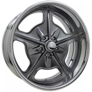 BILLET SPECIALTIES WHEELS  VINTAGE SERIES BONNEVILLE S SMOKE RIM