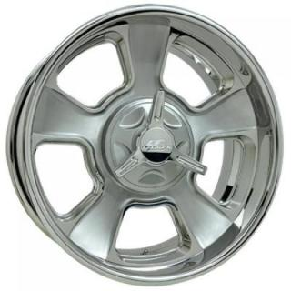 BILLET SPECIALTIES WHEELS  VINTAGE SERIES LEGACY 2 C BRUSHED CLEAR RIM
