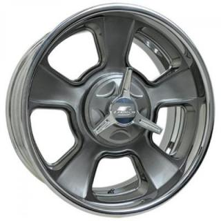BILLET SPECIALTIES WHEELS  VINTAGE SERIES LEGACY 2 S SMOKE RIM