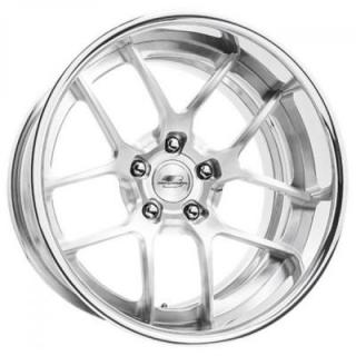 BILLET SPECIALTIES WHEELS  CONCAVE PRO-TOURING GTR POLISHED RIM