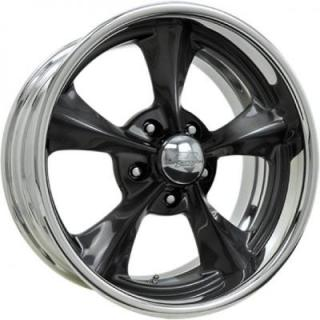 BILLET SPECIALTIES WHEELS  LEGENDS SERIES DAGGER S SMOKE RIM