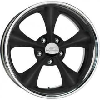 BILLET SPECIALTIES WHEELS  LEGENDS SERIES DAGGER B BLACK RIM
