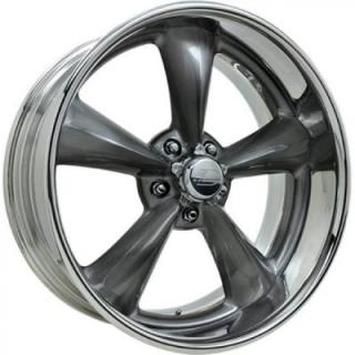 BILLET SPECIALTIES WHEELS  LEGENDS SERIES MAG S SMOKE RIM