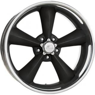 BILLET SPECIALTIES WHEELS  LEGENDS SERIES MAG B BLACK RIM