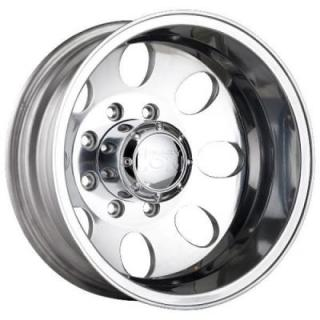 TYPE 167 DUALLY POLISHED REAR RIM by ION ALLOY WHEELS