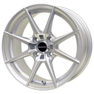 SPECIAL BUY WHEELS  RACING HART SS-A2 SILVER MACHINED RIM