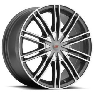 SENDEL S07 HYPER SILVER MACHINED RIM by SENDEL WHEELS