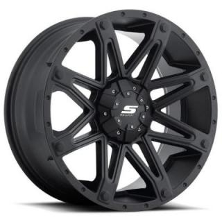 SENDEL WHEELS   SENDEL S35 RECON MATTE BLACK RIM