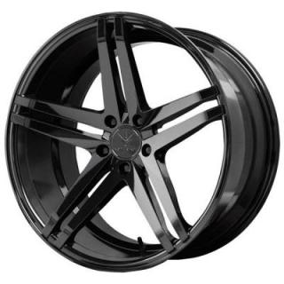 PARALLAX GLOSS BLACK RIM from VERDE WHEELS