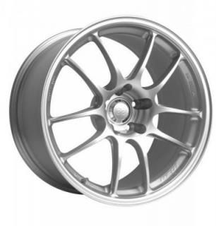 ENKEI RACE SERIES PF01 SILVER RIM DISPLAY SET 1 SET ONLY - SOLD AS IS from SPECIAL BUY WHEELS