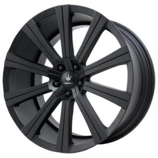 SHIFT MATTE BLACK RIM from VERDE WHEELS