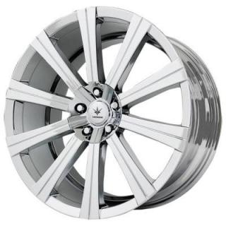 VERDE WHEELS  SHIFT PVD BRIGHT CHROME RIM