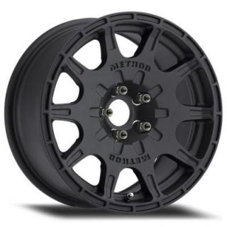 METHOD RACE WHEELS  RACE MR502 RALLY VT-SPEC MATTE BLACK RIM