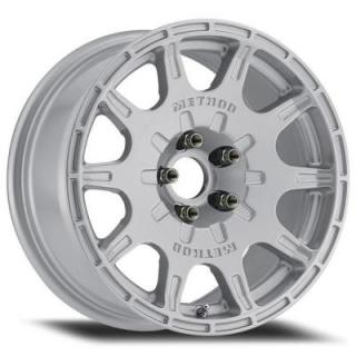 METHOD RACE WHEELS  RACE MR502 RALLY VT-SPEC SILVER RIM