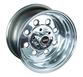 SPECIAL BUY WHEELS  WELD RACING 90 DRAGLITE POLISHED RIM DISPLAY SET 1 SET ONLY - SOLD AS IS