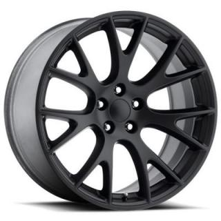 FACTORY REPRODUCTIONS WHEELS  DODGE HELLCAT STYLE 70 SATIN BLACK RIM