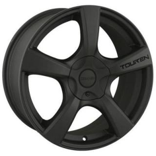 SPECIAL BUY WHEELS  TOUREN TR9 MATTE BLACK RIM DISPLAY SET 1 SET ONLY - SOLD AS IS
