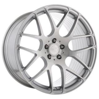M610 ROTARY FORGED BRUSHED LIQUID SILVER RIM by AVANT GARDE WHEELS