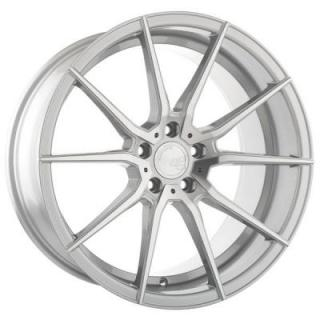 M652 ROTARY FORGED SILVER MACHINED RIM by AVANT GARDE WHEELS