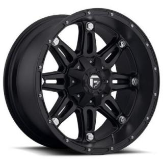SPECIAL BUY WHEELS  FUEL OFFROAD HOSTAGE D531 MATTE BLACK RIM DISPLAY OF 5 SET 1 SET ONLY - SOLD AS IS