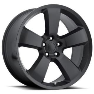 FACTORY REPRODUCTIONS WHEELS  DODGE CHARGER SRT8 STYLE 61 SATIN BLACK RIM