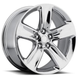 FACTORY REPRODUCTIONS WHEELS  JEEP GRAND CHEROKEE SRT8 2014 STYLE 68 CHROME RIM