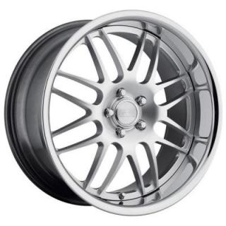 CONCEPT ONE WHEELS  RS-8 HYPER SILVER RIM