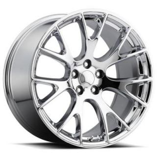 FACTORY REPRODUCTIONS WHEELS  DODGE HELLCAT STYLE 70 CHROME RIM