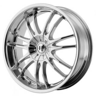SPECIAL BUY WHEELS  HELO HE845 CHROME RIM PPT SET OF 4