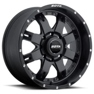 R.E.P.R. SATIN BLACK RIM 8 LUG by SOTA OFFROAD WHEELS