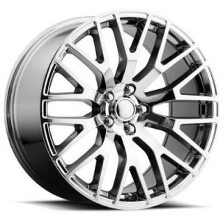 FACTORY REPRODUCTIONS WHEELS  FORD MUSTANG PERFORMANCE STYLE 54 PVD CHROME RIM