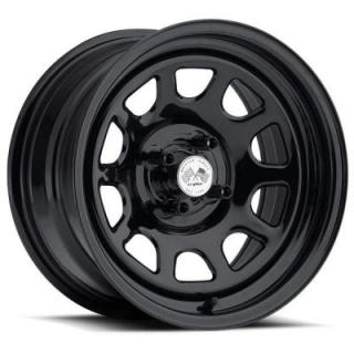 U.S. WHEEL  DAYTONA FWD 022BLK SERIES FULL BLACK RIM