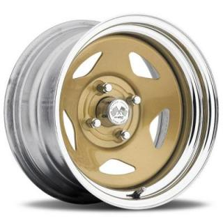 STAR FWD 021GC SERIES GOLD CENTER CHROME RIM by U.S. WHEEL