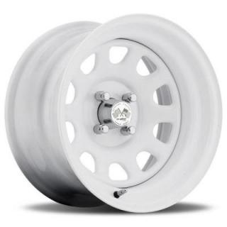 U.S. WHEEL  DAYTONA FWD 022W SERIES FULL WHITE RIM