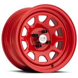 U.S. WHEEL  DAYTONA FWD 022RED SERIES FULL RED RIM