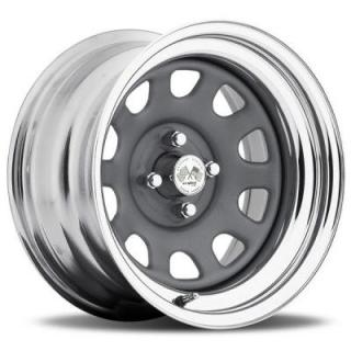 U.S. WHEEL  DAYTONA FWD 022GMC SERIES GUNMETAL CENTER CHROME RIM