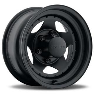U.S. WHEEL  STEALTH STAR 304 SERIES MATTE BLACK RIM