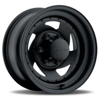 U.S. WHEEL  STEALTH BLADE 204 SERIES MATTE BLACK RIM