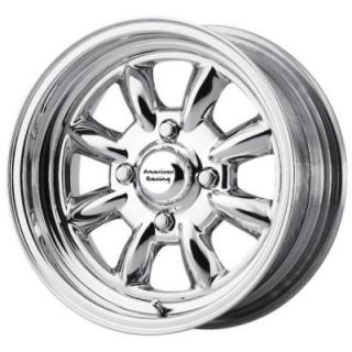 AMERICAN RACING WHEELS  VN401 SILVERSTONE POLISHED RIM