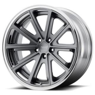 AMERICAN RACING WHEELS  VN901 SATIN GRAY RIM with CHROME LIP