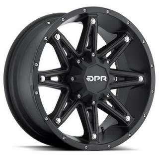 DPR OFFROAD 800 GLOC BLACK RIM DISPLAY SET 1 SET ONLY - SOLD AS IS by SPECIAL BUY WHEELS