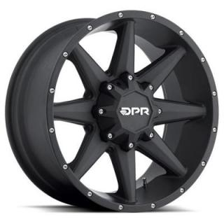 DPR OFFROAD 801 STEALTH BLACK RIM DISPLAY SET 1 SET ONLY - SOLD AS IS by SPECIAL BUY WHEELS
