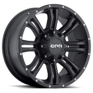 DPR OFFROAD 803 COMMANDO BLACK RIM DISPLAY SET 1 SET ONLY - SOLD AS IS by SPECIAL BUY WHEELS